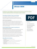 QRadar SIEM 7.0 Data Sheet