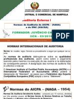 Normas de Auditoria Do Aicpa (Naga) e Ifac (Niaisa)