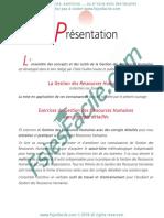 Des Exercices Corrigés S5 de GRH.pdf · Version 1 Www.fsjesfacile.com