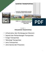 Kuliah 1 Fungsi Dan Manfaat Transportasi