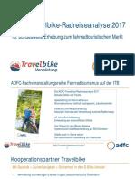 Adfc Travelbike Radreiseanalyse 2017