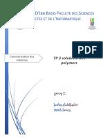 solubilité des  polymers