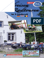 Erlebnisradtour Programm 2014