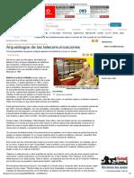 Imprimir - Arqueólogos de Las Telecomunicaciones - La Opinión a Coruña