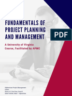Course Description - Fundamentals of Project Planning and Management - Round 3