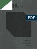 10 | eme3 | Int. Arch. Festival | – | Spain | E. Bru, E. Gadner, J. Abello | Artículo