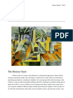 Cubism Research (History - Elements of Art (Pablo Picasso)) (Autosaved)