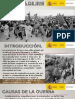 1957 La Guerra de Ifni
