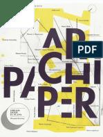 17 | Archipaper | Dibujos desde el plano | Cooperación Española | Dordrecht Energy Carousel | pg. 14-15