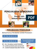 Pengukuran Demografi Plus