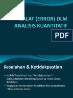 5_Galat Dlm Analisis Kuantitatif-rev