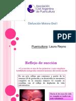 Disfunción Motora Oral I REYNO 3-2018