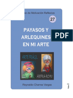 PAYASOS Y ARLEQUINES EN MI ARTE