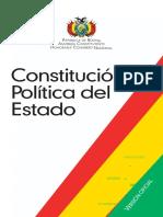 Constitución Política de Estado boliviano