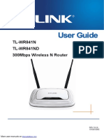 3000Mbs Wireless N Router TL-WR841ND