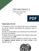 Diseño Mecanico 2_ Diseño de Engranajes Conicos