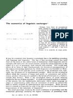 Bourdieu - 1974 - The Economics of Linguistic Exchanges