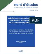 De 2018-228. Adhesion Aux Organisations Patronales