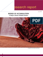Bodies of Accumulation- A Study of Women Sanitition Workers (Report)