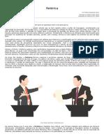 Retórica - Comunicação - InfoEscola