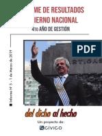 Informe Del Dicho Al Hecho - Gobierno Nacional
