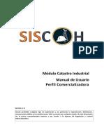 Manual de usuario catastro industrial v1.0 (Comercializadora - Centro Distribución).pdf