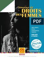 Programme journée du droit des femmes 2019 - Perpignan