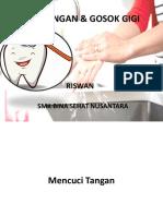 Cuci Tangan & Gosok Gigi Ppt