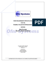 180542108 FastVal User Requirement Template PDF