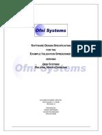 293272976 FastVal Design Specification Template