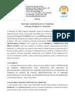 EDITAL PREFEITURA OLHO DAGUA