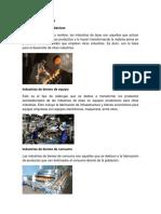Tipos de Industri1