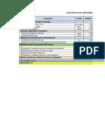 Planillas Presupuesto Proyecto AUP Potosi 117 m