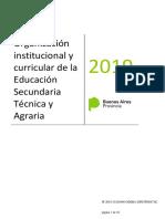 Organización institucional y curricular para la educación secuntaria técnica y agraria 2019.PDF