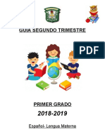 GUIA 2DO TRIMESTRE 1°