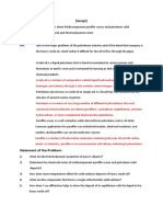 Our Case Study is about Multicomponent paraffin waxes and petroleum solid deposits.docx