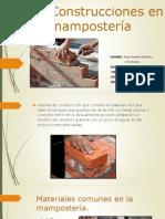 estructuras de manposteria