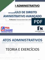 Material completo módulo (30-08) - 4ª feira - Direito Administrativo - Prof. Francisco Saint Clair.pdf