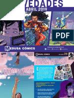 NOVEDADES Medusa Cómics para Abril 2019