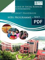 MBA Handbook 2017-18