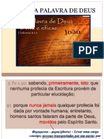 A Palavra de Deus Parte 1