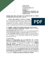 DEMANDA DE AUMENTO DE ALIMENTOS DE LA SRA SONIA MILAGRITOS.docx