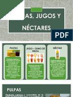 Pulpas, Jugos y Néctares