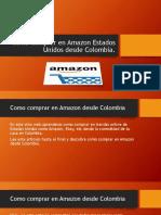Como Comprar en Amazon Estados Unidos Desde Colombia - Tiendas Online Usa