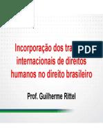 Incorporacao Dos Tratados Internacionais de Direitos Humanos No Direito Brasileiro