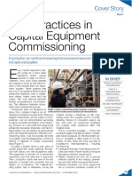 Best Practices in Capital Equipment Commissioning