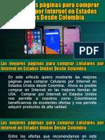Las Mejores Páginas Para Comprar Celulares Por Internet en Estados Unidos Desde Colombia