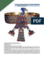 Arte Egipcio - Brazalete Del Buitre de La Reina Ahhotep (Imperio Nuevo)