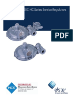 1800C and 1800C-HC Series Service Regulators