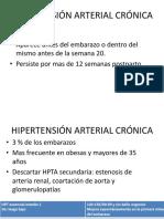 Hipertensión Arterial en El Embarazo Parte 2